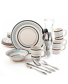 32 Piece Dinnerware Combo Set