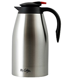 Mr. Coffee Galion 2 Quart Polished Coffee Pot