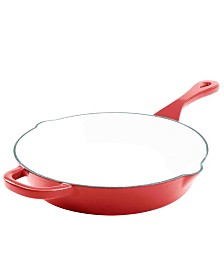"Crock Pot Artisan 8"" Round Enameled Cast Iron Skillet"