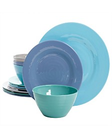 Brist 12 Piece Dinnerware Set