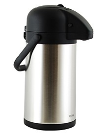 Mr. Coffee Javamax 2.24 Quart Stainless Steel Vacuum Sealed Double Wall Pump Pot