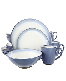 Serene Fountain 16 Piece Dinnerware Set