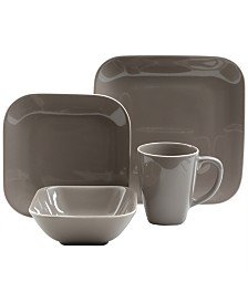 Gibson Square Dance 16 Piece Dinnerware Set