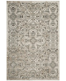 "Safavieh Persian Garden Cream and Silver 6'7"" x 9'6"" Area Rug"