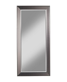Martin Svensson  Contemporary Silver Full Length Leaner Mirror
