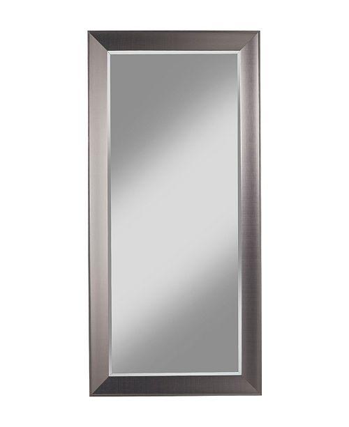Martin Svensson Home Martin Svensson  Contemporary Silver Full Length Leaner Mirror