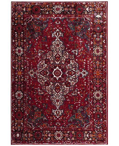 Safavieh Vintage Hamadan Red and Multi 9' x 12' Area Rug