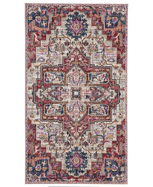 Safavieh Nirvana Creme and Red 3' x 5' Area Rug