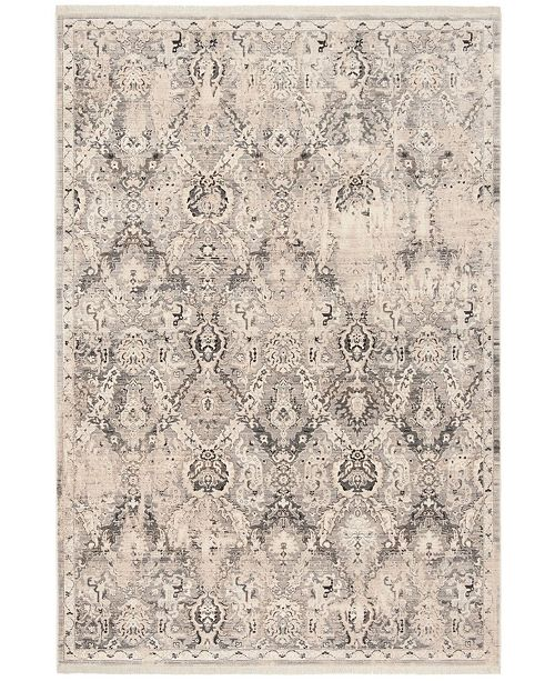 """Safavieh Vintage Persian Grey and Blue 2'2"""" x 8' Runner Area Rug"""