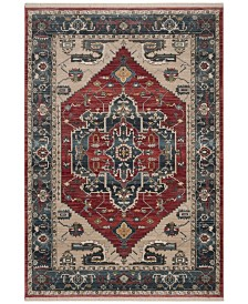 Safavieh Vintage Persian Red and Blue 4' x 6' Area Rug