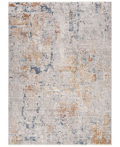 Safavieh Winston Gray and Blue 5' x 8' Area Rug
