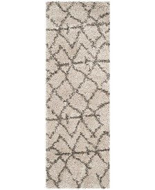"Safavieh Belize Taupe and Grey 2'3"" x 7' Runner Area Rug"