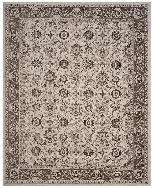 Safavieh Artisan Ivory and Brown 8' x 10' Area Rug