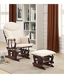 Raul 2-Piece Glider Chair & Ottoman