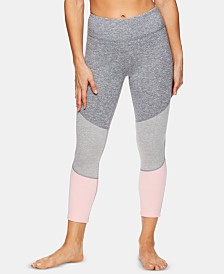 Gaiam Delaney Colorblocked Capri Leggings