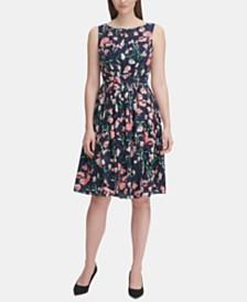 Tommy Hilfiger Floral Fit & Flare Dress