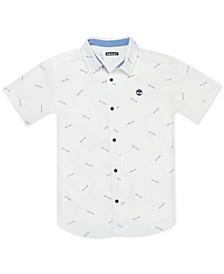 Big Boys Willow Printed Cotton Shirt