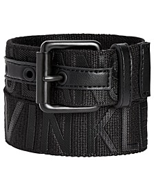 Big Boys Logo Embossed Belt