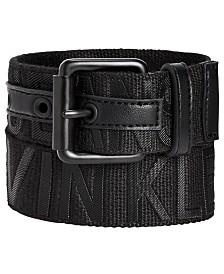 Calvin Klein Big Boys Logo Embossed Belt