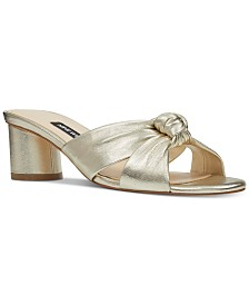 Nine West Kayla Knotted Dress Sandals