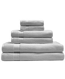 Elite Home 6-Pc. Organic Cotton Towel Set