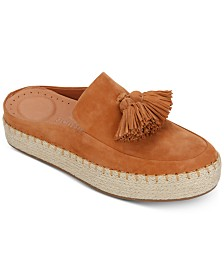 Gentle Souls by Kenneth Cole Women's Rory Espadrille Mules