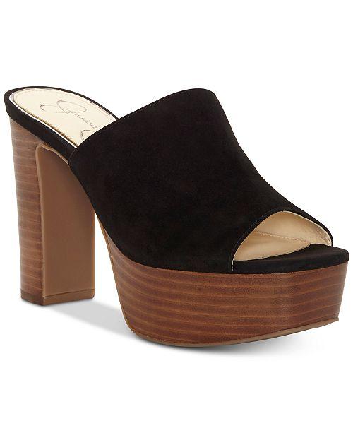 d88b8cfa908 Jessica Simpson Camree Platform Slide Dress Sandals   Reviews ...
