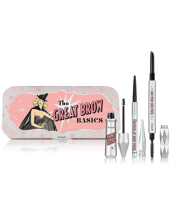 Benefit Cosmetics 3-Pc. The Great Brow Basics Set
