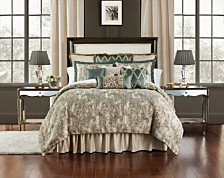 Waterford Anora Reversible Queen 4 Piece Comforter Set
