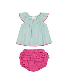 Masala Baby Girls Flutter 2 Pc Set