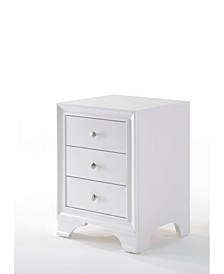 Blaise Nightstand with 3 Drawers