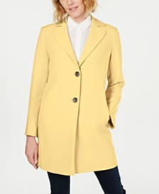 T Tahari Jayden Single-Breasted Coat