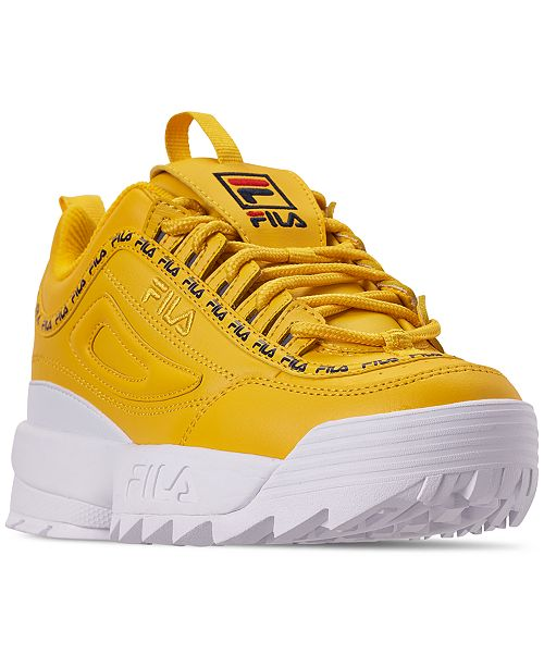 0cf86ecf8865 ... Fila Boys  Disruptor II Repeat Casual Athletic Sneakers from Finish ...