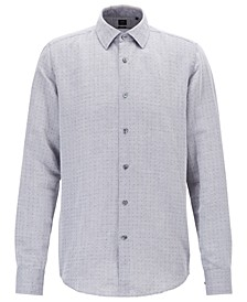BOSS Men's T-Landon Regular-Fit Shirt