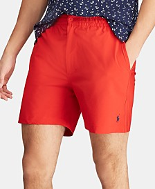 "Polo Ralph Lauren Men's 6"" Polo Prepster Swim Trunks"