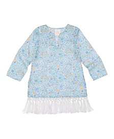 Masala Baby Girls Fringe Tunic Mini Floral