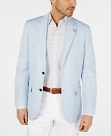 Nautica Men's Modern-Fit Solid Sport Coat
