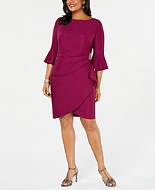 Plus Size Embellished Sheath Dress