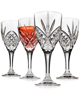 Dublin Acrylic Set of 4 Goblets