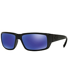 Polarized Sunglasses, FANTAIL POLARIZED 59