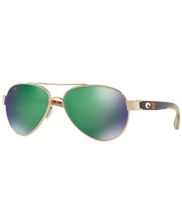 Costa Del Mar - Polarized Sunglasses, CDM LORETO 57