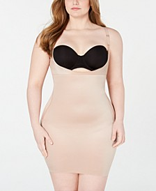 Women's Plus Size SmartGrip™ Slips Open-Bust Full Slip 10178P