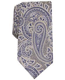 Tasso Elba Men's Glover Paisley Tie, Created for Macy's