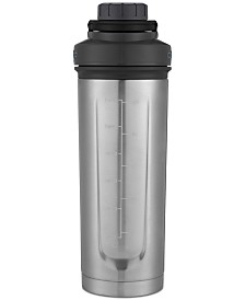Contigo Thermalock Shake & Go Fit 24-oz. Stainless Steel Shaker Bottle, Black & Gray