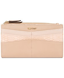 Nine West Khali Slim Zip Organizer