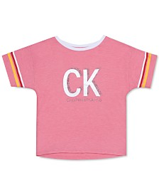 Calvin Klein Big Girls Graphic-Print T-Shirt