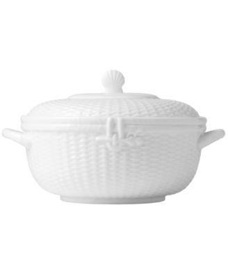 Wedgwood Dinnerware Nantucket Basket Covered Vegetable Bowl - Dinnerware - Dining \u0026 Entertaining - Macy\u0027s  sc 1 st  Macy\u0027s & Wedgwood Dinnerware Nantucket Basket Covered Vegetable Bowl ...