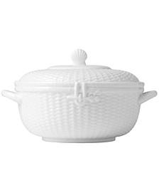 Dinnerware, Nantucket Basket Covered Vegetable Bowl