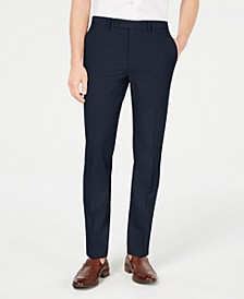 Men's Slim-Fit Stretch Washable Suit Pants