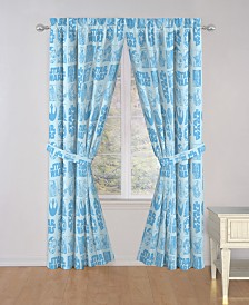 "Star Wars Galactic Grid 84"" Drapes"